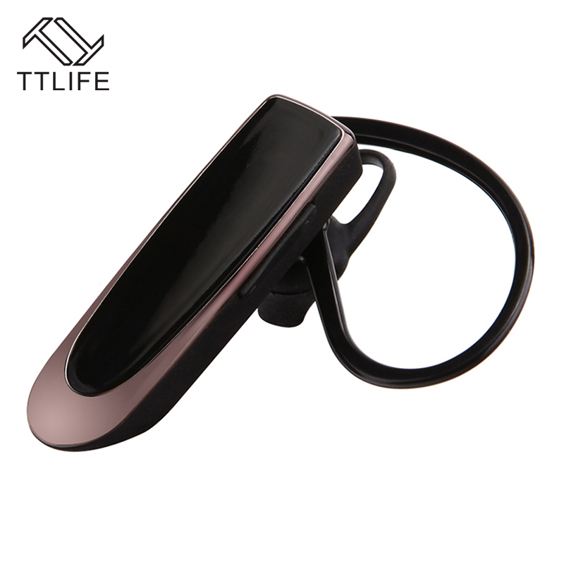 2017 TTLIFE Brand New High Capacity Battery Earphones Bluetooth Earpiece Hands Free Earbuds Wireless Ear Hook Bluetooth Earphone<br><br>Aliexpress