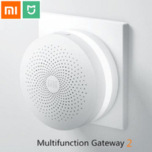 2017 Original xiaomi Smart Home wireless Multifunctional intelligent Gateway with Temperature and Humidity Sensor Smart Socket