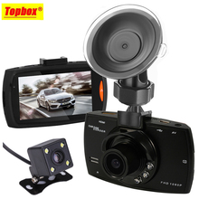 Dual Cameras Car DVR Camera G30 Dash Cam 1080P HD Video Recorder Registrator With Backup Rearview Camera Night Vision Waterproof