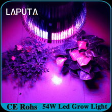 4pcs/lot Hot sales cheap 54w E27 85-265V High power 12red 6Blue LED Grow light for flowering plant and hydroponics system(China)
