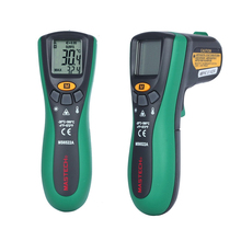 1pcs MASTECH MS6522A Digital Temperature Meter Tester Laser Pointer Non-contact Infrared IR Thermometer