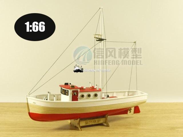 модели рыбацких кораблей
