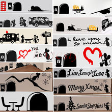 Mouse Mice Rat Decor Gift Decal Car Truck Window Bumper Stairs Wall PC Sticker 13 Types
