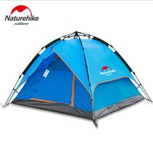 Naturehike Portable Fishing automatic tent fishin 3-4 person outdoor hiking beach Windproof Waterproof Double Layer camping tent