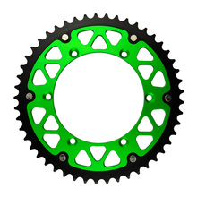 49T High Performance Motorcycle Steel Aluminum Composite Rear Sprocket for KAWASAKI KX250F KX250 F  2004-2014