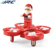 JJRC H67 Flying Santa Claus RC Quadcopter 2.4G 4CH 6Axis Songs Music Headless Mode Kids Toy Christmas Gift Brick Drone VS H36(China)