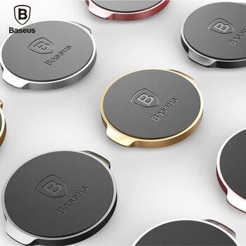 Baseus Mini Magnetic Mobile Phone Holder Car Dashboard Bracket Cell Phone Holder Stand For iPhone Samsung LG Magnet Mount Holder
