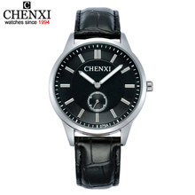 CHENXI Couples New Promotional Watches Female Leather Watches Man Quartz Watch men & women Lover's Gift Wristwatch