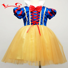 Newborn Baby Dress Girls Infant Snow White Costumes Princess Dress Children Halloween Outfits Kids Tutu Clothes Infantil Vestido
