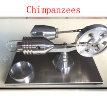 Cool !Miniature Stirling engine 'Chimpanzees' Stirling engine engine generator model hobby Educational Toy Kits