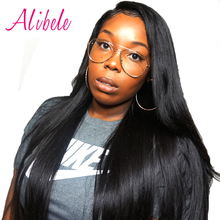 Alibele Peruvian Straight Hair 100% Human Hair Bundles 100g Full Cuticle Remy Hair Weave Natural Color Hair Extensions Dyeable(China)
