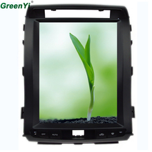"GreenYi Vertical 12.1"" Quad Core Android 6.0 2GB RAM Car DVD GPS Radio For Toyota Landcruiser LC200 Multimedia Stereo Headunit(China)"