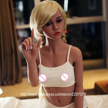 New 156cm adult lifelike Japanese silicone sex dolls shemale skeleton small breast Asian head tan skin oral pussy anal sexy