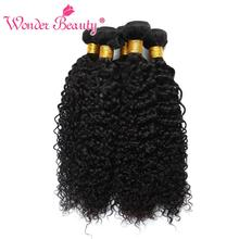 Buy Peruvian Hair Bundles Afro Kinky Curly Hair Weave Human Hair Bundles Wonder Beauty Non Remy 4 Bundles 8-30inch Fast for $33.80 in AliExpress store