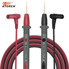 ATORCH Test Leads 1000V 20A Digital Multimeter Pen Copper Needles Test Lead Probe Extension Line Cable
