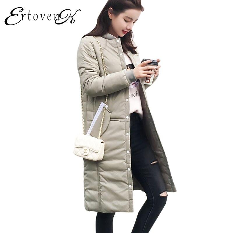 Winter Women Cotton Jacket 2017 Fall Female New Tops Slim Parkas Feather Padded Coat Lady Outerwear jaqueta feminina invernoC94Îäåæäà è àêñåññóàðû<br><br>