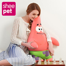 Sheepet Large 76cm Patrick Star Plush Doll Toy Particle Cartoon Animal Doll Toy Stuffed and Plush Toys for Kids Gift(China)