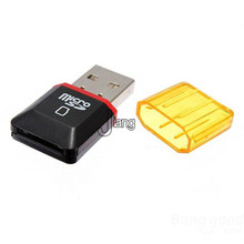 new arrivals Diamond USB 2.0 Hi-Speed Micro SD SDHC TF Card Reader Wholesale Store