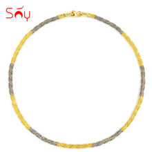 Sunny Jewelry Trendy Fashion Party Jewelry 2017 Round Twisted Snake Choker Necklace Maxi Statement Copper Necklace For Women(China)
