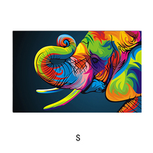 DIY Elephant Oil Painting By Number Wall Pictures For Living Room House Decorative Pictures Accessories Painting By Numbers