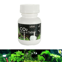 Hot Sale 100pcs Fish Tank ISTA Aquarium CO2 Adding Tablet Carbon Dioxide Water Plants Fertilizer Moss Diffuser Home Supplies