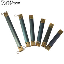KiWarm 10PC Metal Frame Clasp Lock For Purse Vintage Internal Flex Handbag Handle DIY Sewing Bags Accessories 8.5 9 12 15cm