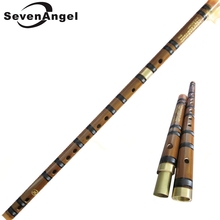 Chinese Bamboo flute Natural bamboo dizi national musical instruments Professional flauta Two section with brass plug