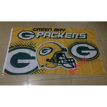 Green Bay Packers 3ft*5ft (90*150cm) Size Decoration Flag Banner