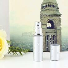 1PC Spray Empty Bottle Easy Used Silver color Amazing Travel Perfume Atomizer Refillable Beauty