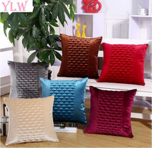 YLW 45x45CM Nylon/ Polyester Corduroy Like Corn Kernels fabrics Cushion Covers(China)