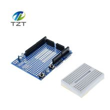 Buy 1pcs UNO ProtoShield prototype expansion board SYB-170 mini breadboard based ARDUINO UNO ProtoShield for $1.29 in AliExpress store