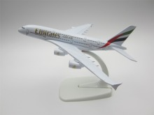 16cm Metal Alloy Plane Model Air Emirates Airways Airbus 380 A380 Airlines Airplane Model w Stand Aircraft  Gift