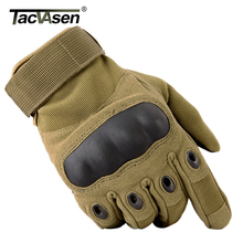 TACVASEN Military Tactical Gloves Men's Army Gloves Full Finger Paintball Gloves Touch Screen Combat Gloves Hunt TD-YWHX-022(China)