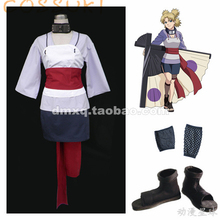 Free Shipping! Newest! Stock! Naruto Temari Second Generation Full Set Cosplay Costume Suits ,Perfect Custom For you!