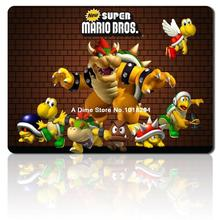 Super Mario mouse pad Super Mario Bros mousepad laptop cute mouse pad gear notbook computer gaming mouse pad gamer play mats(China)