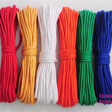 50m Braided Tent Rope Polyester Cord Clothesline Tied The Rope Multicolor Decoration Line Yoga On The Rope