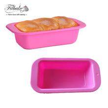 Rectangle Shaped Silicone Mold Cake Mold Loaf Toast Bread Pastry Baking Bakeware DIY Small Cake Pan