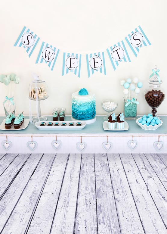 Customize vinyl cloth print birthday party photo studio backgrounds for children portrait photography backdrops props S-951<br>