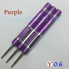20pcs/lot Fast shipping High Quality Y 0.6 Tri wing Screwdriver Special tools For iPhone 7 & Plus Watch Screw Driver Repair