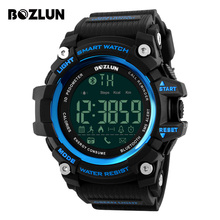 BOZLUN Men Smart Watch Call Reminder Sports Pedometer Calories Watches 30M Waterproof Digital Wristwatches For ios Android ST01