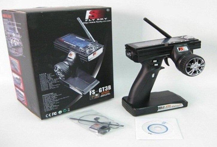 Flysky fs gt3b FS-GT3B 2.4Ghz 3ch 2.4 RC System Gun remote control transmitter and receiver For RC Car Boat<br>