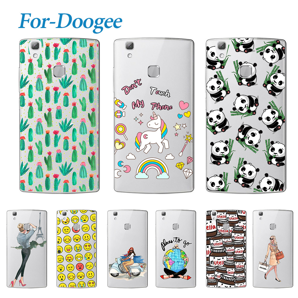 Fashion Young Soft TPU Case Doogee X5 Max X6 Pro F5 Homtom HT3 HT17 Soft Silicone Soft Back Cover Phone Cases