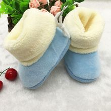 Winter Warm Newborn Baby Baby Prewalker Shoes Infant Toddler Soft Soled First Walker Shoes Booties