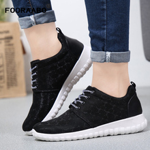 Buy FOORAABO New Luxury Brand Women's Casual Shoes Spring Autumn Breathable Woman Shoes Flats Zapatos Mujer Classic Walking Shoes for $18.75 in AliExpress store