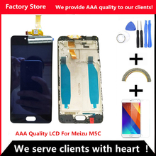 Q&Y QYJOY AAA Quality LCD+Frame For MEIZU M5C/MEILAN 5C Lcd Display Screen Replacement For MEIZU M5C Digiziter Assembly(China)