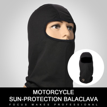 Motorcycle Masks Black Grid Dynamics Mesh Full Mask Summer Breathable sunscreen Masks With Ventilation Holes