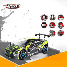 1:10 4wd Original HSP Electric Rc Cars Drift Car High Speed 94123 Remote Control Flying Fish Drifting on-road