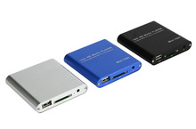 Mini Full Hd 1080p Usb External Hdd Player With SD MMC Card Reader Host Support Mkv Hdmi Hdd Media Player(China)