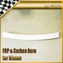Car-styling For Nissan Cefiro A31 Dmax Style FRP Fiber Glass Rear Roof Spoiler(China)