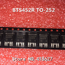 100PCS/LOT BTS452R BTS452 TO-252 TO252 Automotive computer chip smart high-side power switch(China)